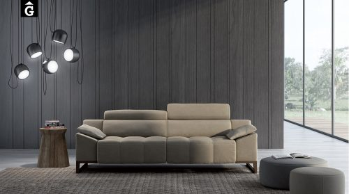Sofà Sham tapizados MORADILLO by mobles GIFREU