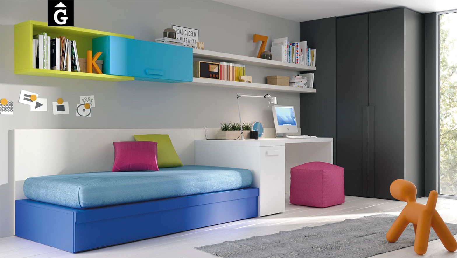 Infinity coloraines mobles gifreu for Muebles infinity