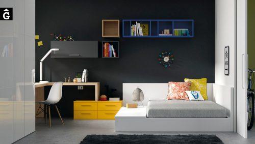 mobles-Gifreu-&-muebles-JJP-habitació-juvenil-llit-tatami-modern-atractiu-atrevit