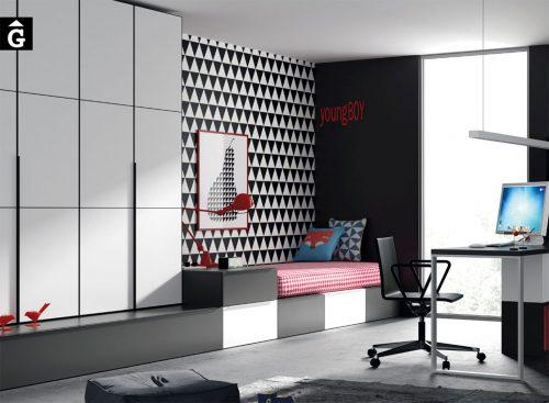 mobles-Gifreu-&-Muebles-JJP-Infinity-composició-moble-en-blanc-i-negre.-Qualitat,-moderns,-pràctic