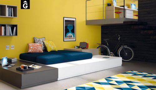 Catalogo-Infinity-&-mobles-Gifreu-i-muebles-JJP-habtiació-llit-calaixos-jove-modern-pràctic