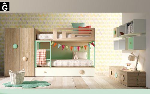 Ambers llitera Lagrama habitacions juvenils by mobles Gifreu Porqueres Girona