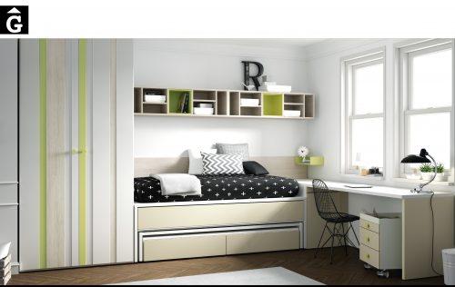 Lima armari rallat vertical Lagrama habitacions juvenils by mobles Gifreu Porqueres Girona