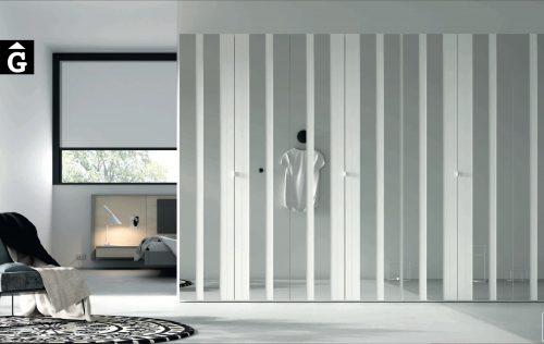 Lagrama armaris porta corredera AV mirall by Mobles GIFREU Girona modern qualitat vanguardia minim elegant atemporal