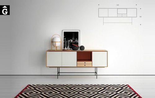 Aura programa modular muebles Treku by mobles Gifreu Idees per la llar moble de qualitat