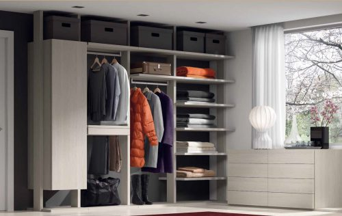 Vestidor basic Besform by Mobles GIFREU Armaris Vestidors Habitcions a mida modern minim elegant atemporal