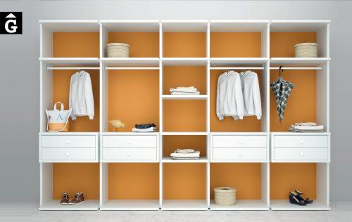 Vestidor Opened Calabaza Lagrama by Mobles GIFREU Armaris Vestidors Habitcions a mida modern minim elegant atemporal