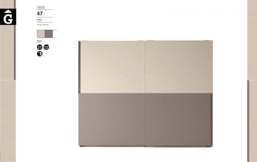 Armari portes correderes JJP NoLimits by Mobles GIFREU Girona Armaris a mida modern minim elegant atemporal