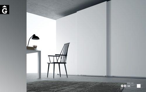 Armari Clean Blanc JJP NoLimits by Mobles GIFREU Girona Armaris a mida modern minim elegant atemporal