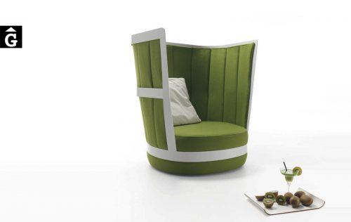 Toupie de front Belta by mobles Gifreu Girona tapisseria sofas sillons butaques de qualitat