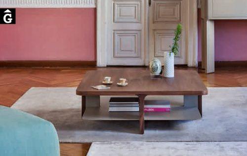 11 Taula centre Acro-bat noguera i visó al2 fabricant de mobles Grec distribuïdor mobles Gifreu