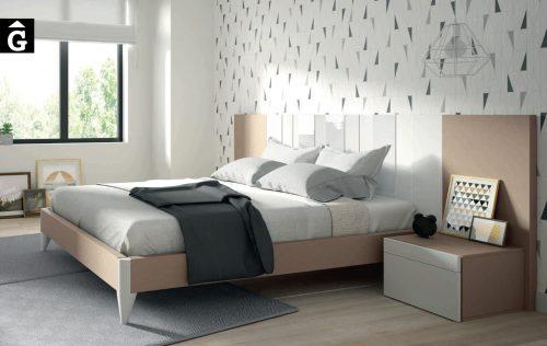 AV Cristal blanc Habitació llit gran Lagrama