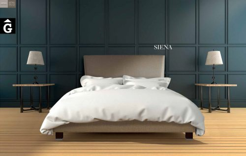 Siena llit entapissat Beds Astral Nature descans qualitat natural i salut junts per mobles Gifreu