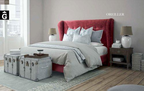 Oreiller llit entapissat Beds Astral Nature descans qualitat natural i salut junts per mobles Gifreu