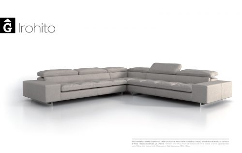 Sofà raconer Irohito de Moradillo by mobles Gifreu tapisseria de qualitat sofas relax llits puff pouf chaixelongues butaques sillons