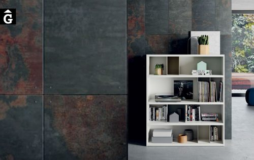 Llibreria Line blanca ViVe 100 muebles Verge programa llibrera llibreries living by mobles Gifreu