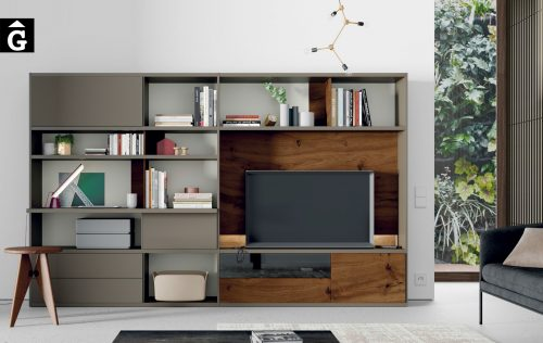 Moble Tv llibreria Line ViVe muebles Verge programa llibrera llibreries living by mobles Gifreu