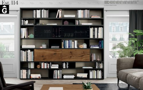 Moble llibreria Vintage Line ViVe muebles Verge programa llibrera llibreries living by mobles Gifreu