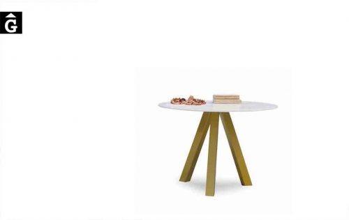 Taula-rodona-Water-fixa-sobre-Dekton-fons-blanc-Pure-Designs-mobles-Gifreu