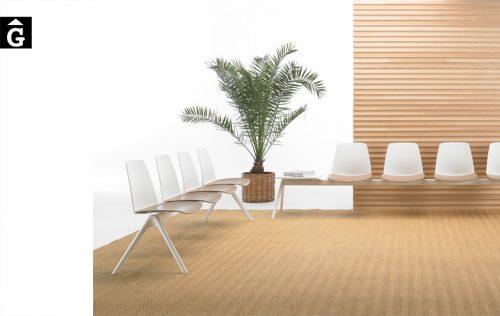 Banc cadira Unnia Inclass mobles Gifreu