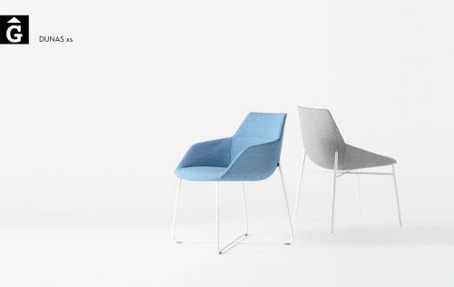 Butaca i Cadira Dunas XS 4 potes Inclass mobles Gifreu