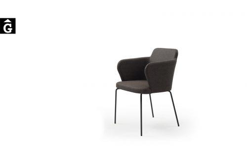 Cadira Evita PH negre Doos by mobles Gifreu taules i cadires alta qualitat