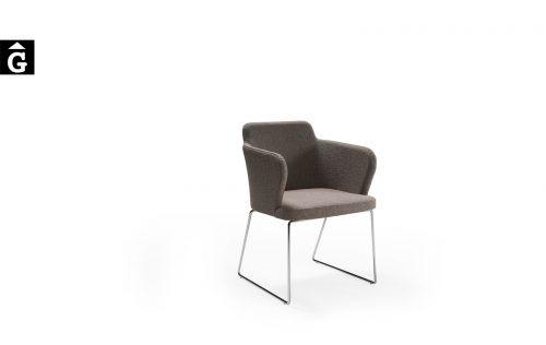 Cadira Evita peu patí PP Doos by mobles Gifreu taules i cadires alta qualitat