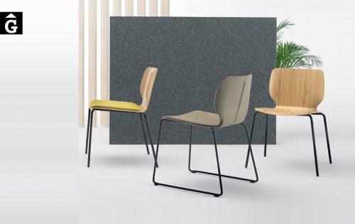 Cadira Nim entapissada 5 Inclass mobles Gifreu