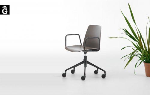 Cadira amb rodes Unnia Inclass mobles Gifreu