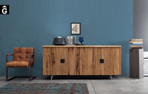 Moble bufet roure massís Madia Oak Naturale de Devina Nais V2 by mobles Gifreu
