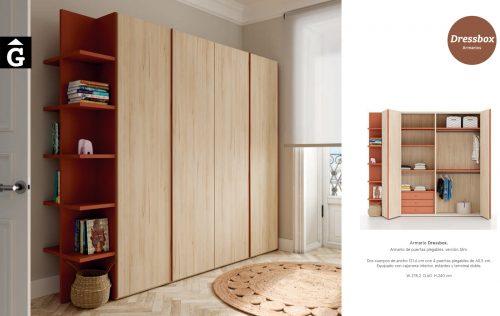Armari portes plegables Slim | Dressbox | lagrama | mobles Gifreu