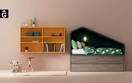 Habitació Juvenil Llit Cottage 2 calaixos i llit niu I lagrama | mobles Gifreu