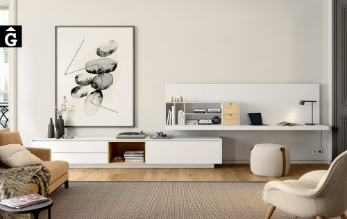 Moble Area One   Escriptori   Moble Tv   Detall   mobles Ciurans   mobles Gifreu
