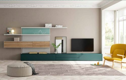 Moble Tv Foresta i Golden   lagrama   mobles Gifreu