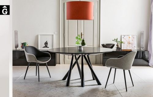 Taula Forest rodona Ø150 | MIDJ | mobles Gifreu | Productes de qualitat