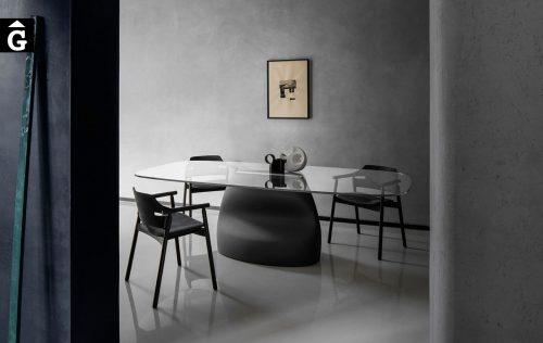 Taula peu central Gran Sasso de MIDJ | mobles Gifreu | Productes de qualitat