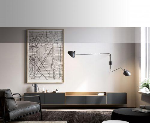 Composicions mobles menjador, living, sala...