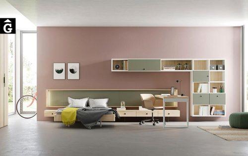 Habitació joves actual Airbox | lagrama | mobles Gifreu