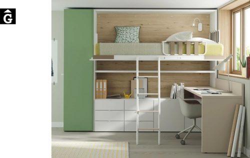 Habitació amb llit abatible horitzontal alt