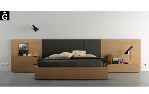 Habitació llit gran On nigh Taiga | Vive | On night | Mobles Gifreu
