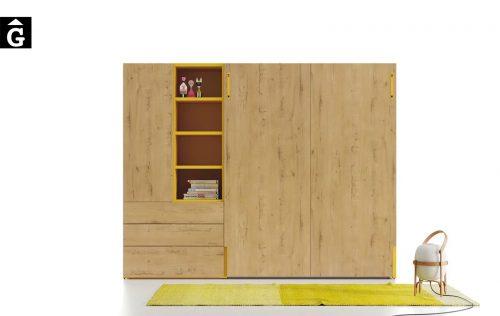Llit gran abatible | llit doble | Up & Down | llits abatibles | Pràctics, saludables i segurs | Jotajotape | mobles Gifreu
