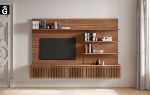 Moble Tv a paret Stockholm Slim | Punt | mobles Gifreu