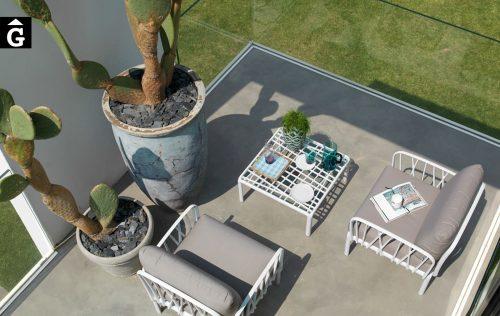 Butaques d'exterior blanques Komodo | Nardi | mobiliari d'exterior amb disseny i a preus perfectes