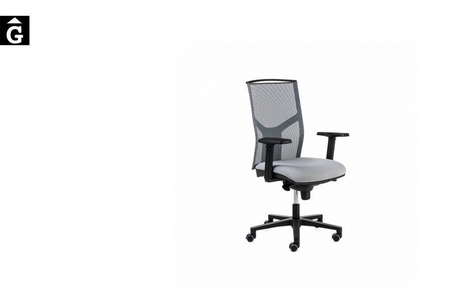 Cadira oficina negra Akita Pro Vista general   Mobles Oficina   Dile   mobiliari d'oficina molt interessant   Dileoffice