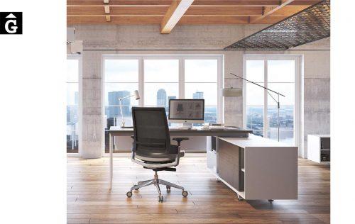 Despatx executiu M10 | Mobles oficina taula sistema M10 | Mario Ruiz | Forma 5 | mobiliari d'oficina molt interessant | mobles Gifreu | botiga | Contract | Mobles nous d'oficina