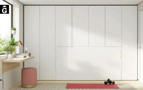 Habitació Estudi amb armari llit abatible | Up & Down | llits abatibles | Pràctics, saludables i segurs | Jotajotape | mobles Gifreu