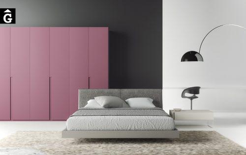 Habitació llit gran Pilow i tauleta Tomi | Besform mobles Gifreu | Mobles de qualitat i a mida | Girona