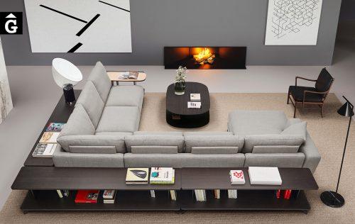Sofà Joquer Pulse Raconera i Chaise longue   Joquer   Sofàs a mida   grans   llargs   Moderns   Modulars   per la teva llar   Comprar sofà   mobles Gifreu   Botiga   Distribuïdor Girona