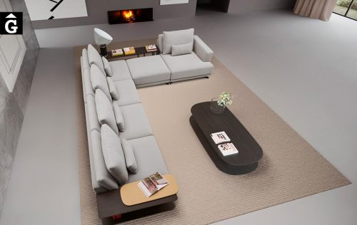 Sofà Joquer Pulse gran raconera oberta   Joquer   Sofàs a mida   grans   llargs   Moderns   Modulars   per la teva llar   Comprar sofà   mobles Gifreu   Botiga   Distribuïdor Girona