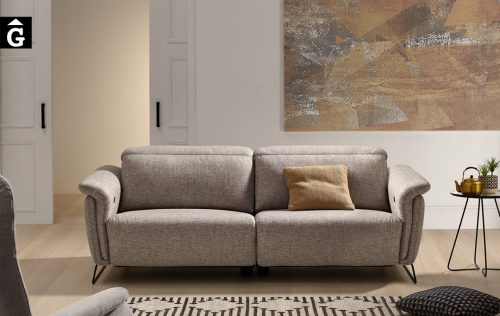 Sofà petit relax elèctric Ashley | Bobbio | Sofàs a mida | grans | llargs | Moderns | Modulars | Per a casa | Comprar sofà | mobles Gifreu | Botiga | Distribuïdor Girona